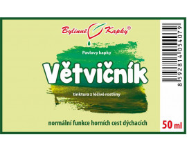 Pľuzgierka islandská kvapky (tinktúra) 50 ml