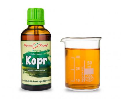 Kopr - bylinné kapky (tinktura) 50 ml