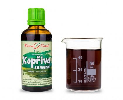 Pŕhľava dvojdomá vňať kvapky (tinktúra) 50 ml