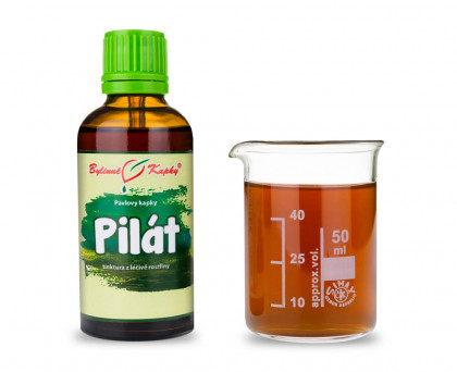 Pilát - bylinné kapky (tinktura) 50 ml