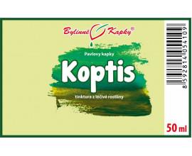 Koptis - bylinné kapky (tinktura) 50 ml