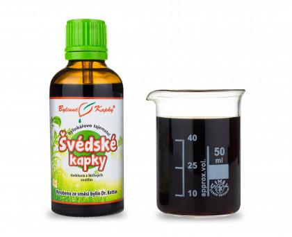 Švédské kapky (tinktura) 50 ml