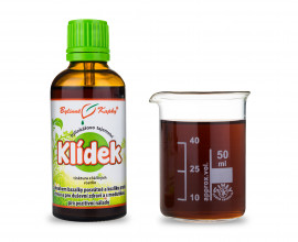 Klídek - bylinné kapky (tinktura) 50 ml