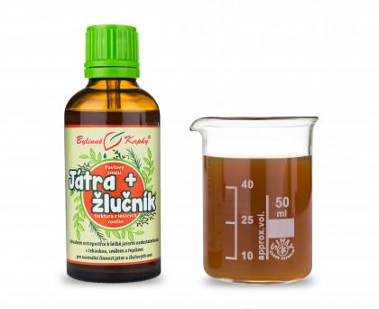 Játra a žlučník kapky (tinktura) 50 ml