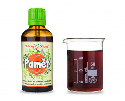 Paměť kapky (tinktura) 50 ml