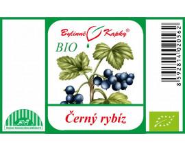 Černý rybíz plod BIO - bylinné kapky (tinktura)  50 ml