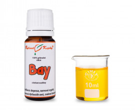 Bay 100% prírodné silice - esenciálny (éterický) olej 10 ml