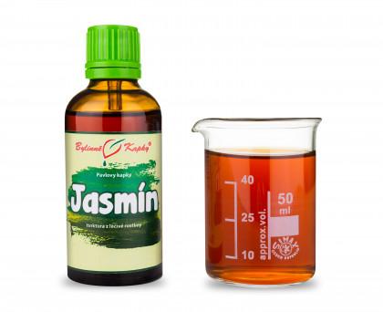 Jasmín - bylinné kapky (tinktura) 50 ml