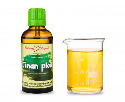 Jinan plod (Ginkgo) - bylinné kapky (tinktura) 50 ml