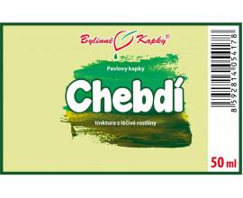 Chebdí - bylinné kapky (tinktura) 50 ml