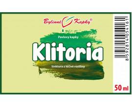 Klitoria - bylinné kapky (tinktura) 50 ml