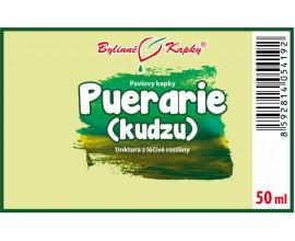 Puerarie (Kudzu) kořen - bylinné kapky (tinktura) 50 ml