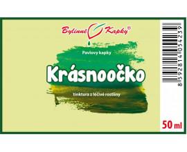 Krásnoočko - bylinné kapky (tinktura) 50 ml