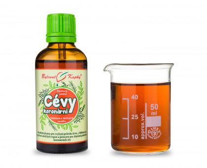 Cévy koronární kapky (tinktura) 50 ml