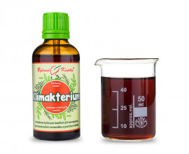 Klimakterium - bylinné kapky (tinktura) 50 ml