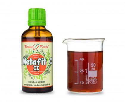Metafit C II (cukrovka) kapky (tinktura) 50 ml