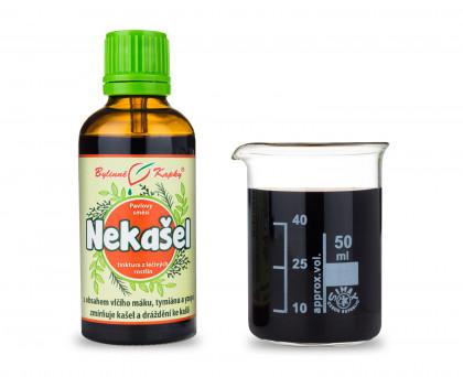 Průdušky - suchý K. - bylinné kapky (tinktura) 50 ml