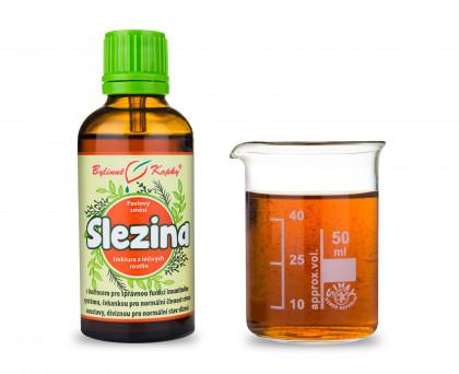 Slezina kapky (tinktura) 50 ml