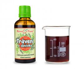 Trávicí cesty (Trávení a slinivka) - bylinné kapky (tinktura) 50 ml