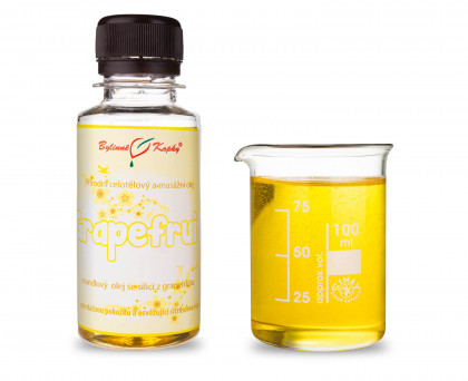 Grapefruit (grep) - masážní olej celotělový 100ml