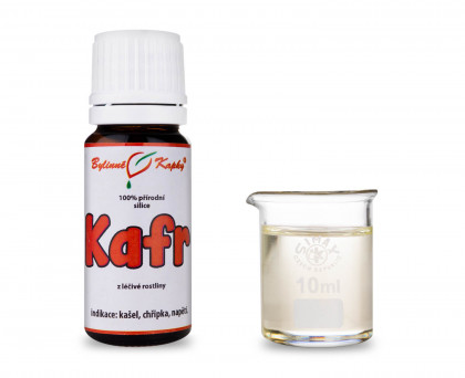 Kafr - 100 % přírodní silice - esenciální (éterický) olej 10 ml
