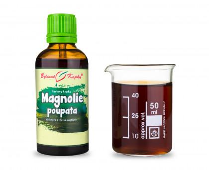 Magnolie poupata - bylinné kapky (tinktura) 50 ml