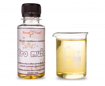 Masážní olej celotělový pro muže 100ml