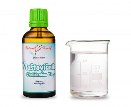 Vlaštovičník (Chelidonium) kapky (tinktura) 50 ml