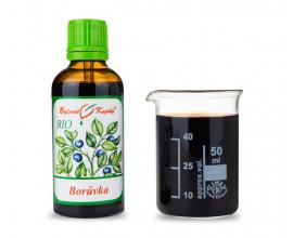 Borůvka plod BIO - bylinné kapky (tinktura) 50 ml