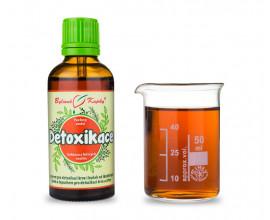 Detoxikace - bylinné kapky (tinktura) 50 ml