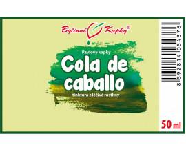 Cola de caballo - bylinné kapky (tinktura) 50 ml