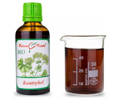Kapucínka väčšia kvitnúca vňať BIO kvapky (tinktúra) 50 ml