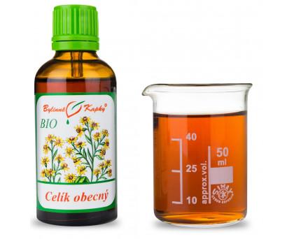 Celík (zlatobýl) obecný BIO kapky (tinktura) 50 ml