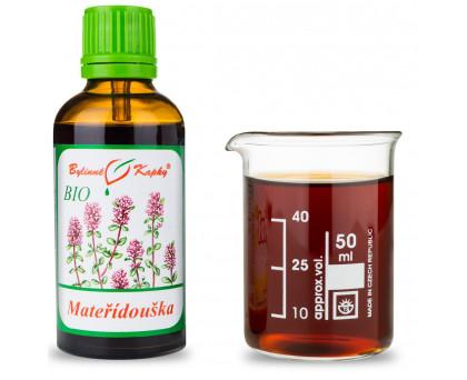 Mateřídouška BIO kapky (tinktura) 50 ml