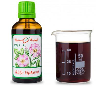 Růže šípková BIO kapky (tinktura) 50 ml