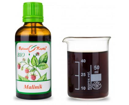 Maliník BIO kapky (tinktura) 50 ml