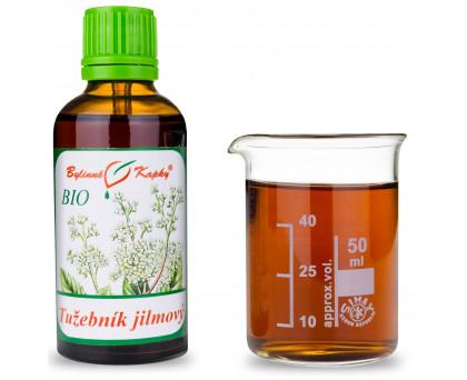Tužebník kvetoucí nať BIO - bylinné kapky (tinktura) 50 ml