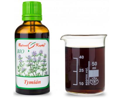 Tymián BIO kapky (tinktura) 50 ml