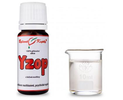 Yzop - 100 % přírodní silice - esenciální (éterický) olej 10 ml