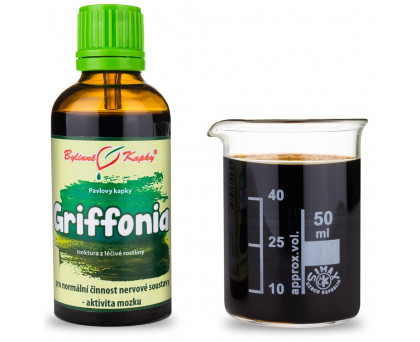 Griffonia - bylinné kapky (tinktura) 50 ml