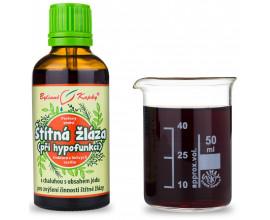 Štítna žľaza hypofunkcia kvapky (tinktúra) 50 ml