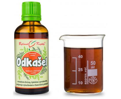 Průdušky - vlhký K. - bylinné kapky (tinktura) 50 ml