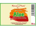 Aloe vera - bylinné kapky (tinktura) 50 ml