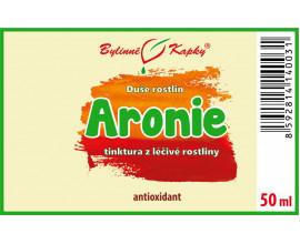 Aronie (černý jeřáb) - bylinné kapky (tinktura) 50 ml