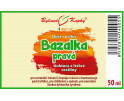 Bazalka pravá - bylinné kapky (tinktura)  50 ml