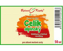 Celík (zlatobýl) alpínský - bylinné kapky (tinktura) 50 ml