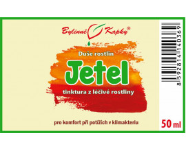 Jetel červený - bylinné kapky (tinktura) 50 ml