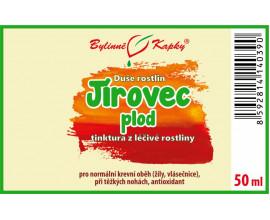 Jírovec plod - bylinné kapky (tinktura) 50 ml