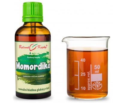 Momordika (hořká okurka) - bylinné kapky (tinktura) 50 ml