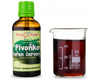 Pivoňka lekárská kvapky (tinktúra) 50 ml